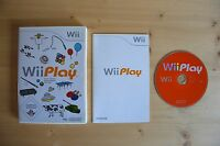 Wii - Wii Play - (OVP, mit Anleitung)