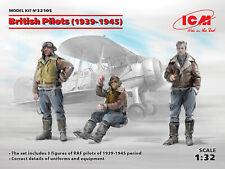 ICM 1/32 British Pilots (1939-1945) # 32105
