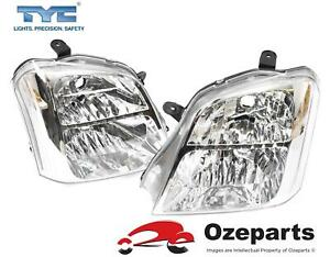 Set / Pair LH+RH Head Light Front Lamp For Holden Rodeo RA Series 1 2003~2007