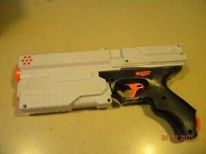 Nerf Rival Phantom Corps Kronos XVIII-500 White Pistol Blaster Tested