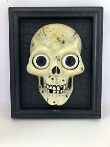 Halloween Decoration Gemmy Playtronix Animated Skull (Not Working)
