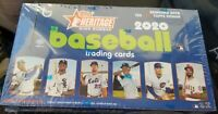 ✅⚾️🔥2020 Topps Heritage Baseball High Number Hobby Box Factory Sealed