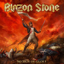 BLAZON STONE - No Sign of Glory (NEW*2nd ALBUM*HEAVY METAL*RUNNING WILD WORSHIP)