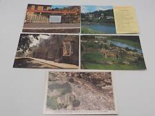 Vintage Lot of 5 Unused Great Britain England Souvenir Postcards