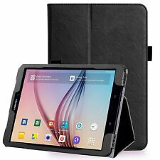 "COVER BOOK Per SAMSUNG GALAXY TAB S3 T820 T825 9.7""CUSTODIA SMART MAGNETICA NERO"
