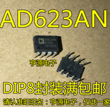 50X AD623AN DIP8 Single-Supply, Rail-to-Rail, Low Cost Instrumentation Amplifier