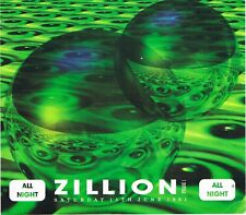 ZILLION Rave Flyer Flyers 6/3/92 A5 THE PRODIGY (live) Brixton Academy London