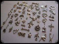 BULK PACK OF~50 MIXED TIBETAN SILVER CHARMS(LUCKY DIP PACKS)Buy 2 Get 3RD FREE