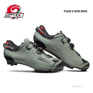 NEW 2021 Sidi TIGER 2 Carbon MTB Mountain Bike Shoes : SAGE