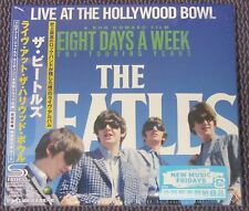 "THE BEATLES ""Live At The Hollywood Bowl"" JAPAN SHM-CD FIRST PRESS *SEALED"""