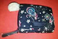 Vera Bradley Iconic RFID Card Case in Holiday Owls #22570-M06 NWT