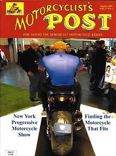 Motorcyclists Post magazine New York Progressive motorcycle show Dog sidekicks