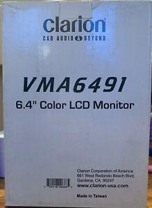 "New Clarion VMA6491 6.4"" Color LCD Monitor,NIB,RARE,NOS,vintage"