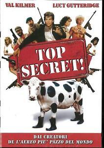 TOP SECRET  DVD COMICO-COMMEDIA