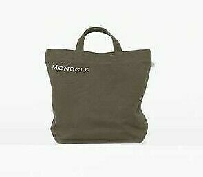 Monocle Magazine Premium Tote Bag | Khaki