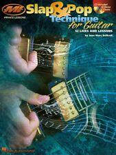 Slap & Pop Technique for Guitar - Private Lessons Series Instructional 000695645