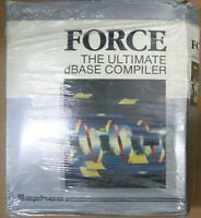 FORCE, The Ultimate dBASE compiler - 1990, by Sophco