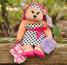 NEW Carrie the Shopping Girl Bear - Beanie Kid Collectable