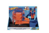 Hot Wheels City Super Spin Dealership Track Playset Includes X1 Diecast Car New