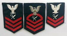 New listing U.S. Navy Chief First Second Class Petty Officer Intelligence 3 Patch Lot Eagle