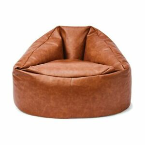 Adults Kids Extra Large Bean Bag Chairs Couch Sofa Cover Indoor Lazy Lounger M1.
