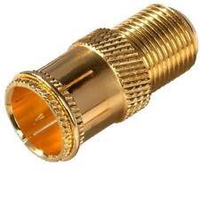 NEW ZENITH VA1001RG6QP GOLD COAX CABLE RG6 QUICK F CONNECTOR 6317010