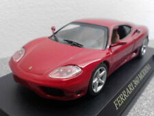 Coches de carreras de automodelismo y aeromodelismo IXO color principal rojo Ferrari
