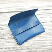 Personalised Leather Card Case-Leather Card Wallet Card Holder