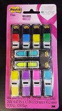 3M Post It 280 Flags Combo Pack, Assorted Colors+Bonus 48 Arrow Flags, 328 Total