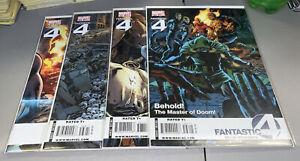 Fantastic Four #566 567 568 569 Marvel 2009 Lot Of 4 Comics Millar