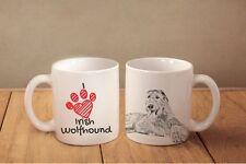 "Irish Wolfhound - ceramic cup, mug ""I love"", Ca"