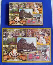 PUZZLE Vintage HARRODS DEPARTMENT STORE London 500 PC COMPLETE Advertising