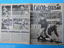 1963 il calcio e ciclismo illustrato n.5 mazzola napoli spal fiorentina hamrin
