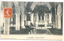 CP 22 CÔTES D'ARMOR - St-Caradec - Intérieur de l'Eglise