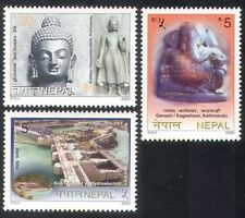 Nepal 2003 Tourism/Buddha/Dam/Statues/Art/Energy/Hydro-electric 3v set (n38819)
