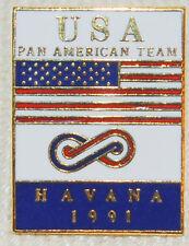 1991 Pan Am Games Havana, Cuba US Team Pin
