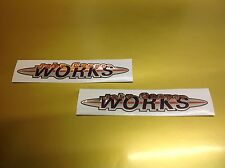 John Cooper Works Stickers Decals ,chrome x2