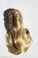 12in Medium Len Blonde Brunette Red Straight Wavy Clip-in-Extencions Hair Pieces