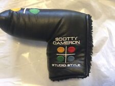 Titleist Scotty Cameron Studio Style Putter Black Headcover with Divot Tool