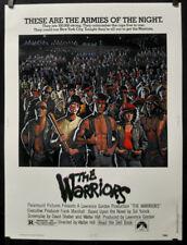 THE WARRIORS 1979 ORIGINAL 30X40 MOVIE POSTER MICHAEL BECK JAMES REMAR