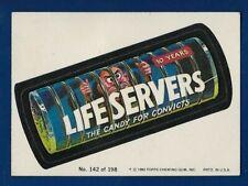 1980 Topps Wacky Packages #142 Life Servers (EX-MT) Album Sticker