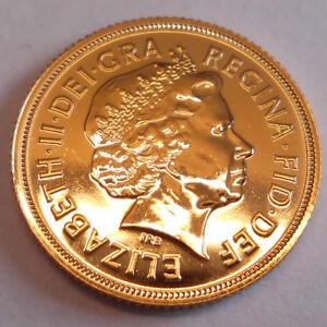 Goldmünze Sovereign 1 Pfund verschiedene Jahrgänge in sehr schön vorzüglich