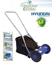Rasaerba/Tagliaerba manuale a spinta in acciaio Hyundai - 65480
