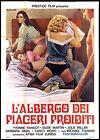 L'ALBERGO DEI PIACERI PROIBITI MANIFESTO FILM SEXY EROTICO 1972 MOVIE POSTER 4F