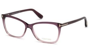 Tom Ford glasses TF 5514 in col 083 violet with case & cloth 54mm