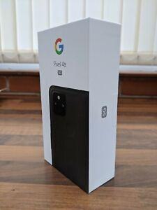 New Google Pixel 4a 5G Mobile Phone - Unlocked - 128GB Just Black - Brand New UK