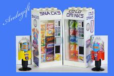 Lego Getränke und Snack Automaten Essen Kühlschrank Bahnhof Shop NEU