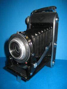 Agfa Record I, Rollfilm 6x9 Kamera, Agnar 1:4,5 / 105cm, funktionstüchtig