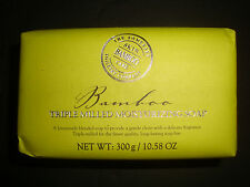 New Somerset Toiletry Made in Portugal 10.58oz 300g Luxury Bath Bar Soap Bamboo