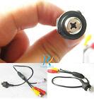 Screw Color Video Audio mini spy micro nanny pinhole hidden High HD CCTV camera